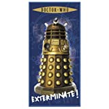 Zap Dr Who Dalek Printed Towelby Bedding Online