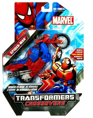 Marvel Transformers Crossovers Motor-Cycle to Spider-man, Red Costume (Transformers Marvel Crossovers compare prices)