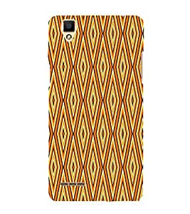 Abstract Pattern 3D Hard Polycarbonate Designer Back Case Cover for Oppo F1