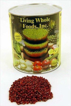 Adzuki Sprouting Seed Mix- Organic- 5 Lbs- Dried Adzuki Seeds For Sprouting Sprouts, Cooking, Soup, Food Storage.