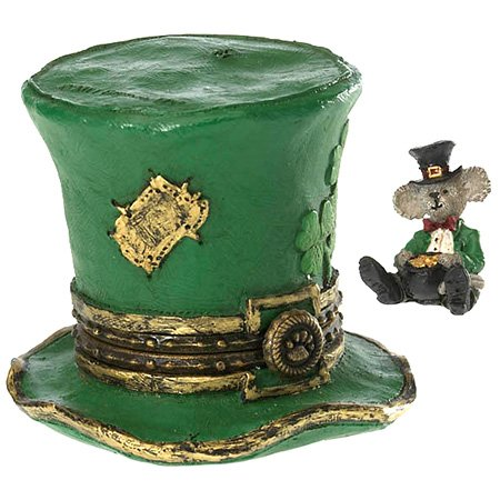 Boyds Bears Lucky's Top Hat  Paddy Mcnibble