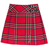 Royal Stewart 20 Inch Pleated Knee Length Scottish Highland Kilt Skirt 6-28