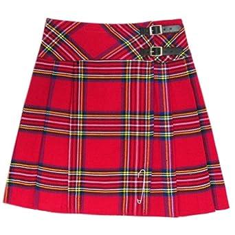 Royal Stewart Tartan 20 inch Kilt Skirt - Size 6/W26