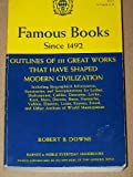 img - for FAMOUS BOOKS SINCE 1492 book / textbook / text book