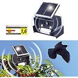 Gardigo épouvantail ultrason qui fonctionne à l'énergie solaire noir