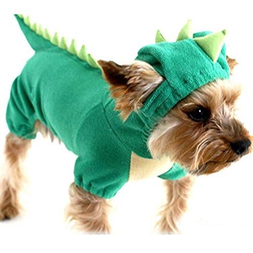 Himanjie-Dguisement-dinosaure-vert-pour-chien-Coton