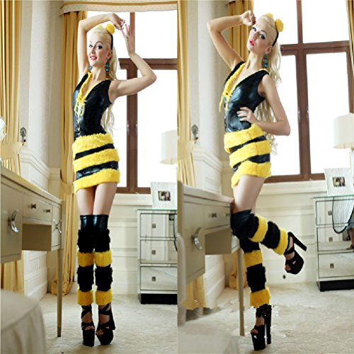 Purplebox Faux Bee Animal Costumes Halloween Animal Cosplay Clothes