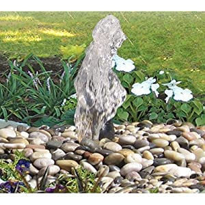 Algreen Serenity Disappearing Water Garden Fountain and Pond Kit