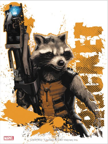 Licenses Products P/S Guardians of The Galaxy Rocket Gun Sticker