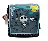 Nightmare Before Christmas Tall Messenger Bag Purse Jack Goth Punk Psychobilly by Dysfunctional Doll