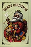 Merry Christmas Poster (0486596257) by Nast, Thomas