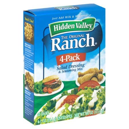 Hidden Valley Ranch Salad Dressing Salad Mix - 6 Pack