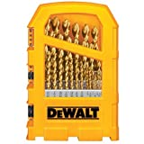 DEWALT DW1369 29-Piece Titanium Pilot-Point Drill Bit Set