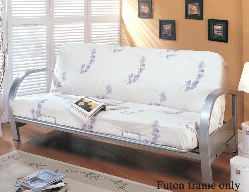 coaster-home-furnishings-transitional-futon-frame-silver