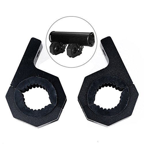2pcs Mounting Brackets Work Light Clamp Bar Roof Roll Cage 1 3/8
