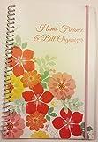 Home Finance & Bill Organizer with Pockets (Flowers)