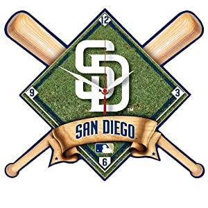 MLB San Diego Padres High Definition Clock by WinCraft