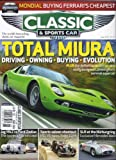 img - for Classic & Sports Car (June 2013 (Total Miura)) book / textbook / text book