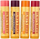 Burts Bees Lip Balm, Superfruit, 0.15 oz, 4 pk