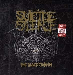 the black crown vinyl by suicide silence music. Black Bedroom Furniture Sets. Home Design Ideas