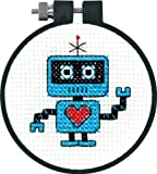 Dimensions Needlecrafts Counted Cross Stitch, Robot