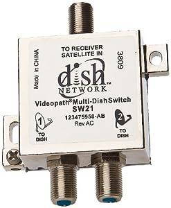 Videopath / Bell Expressvu / Dish Network MODEL SW21 Multi-Dish Switch