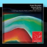 Leonid Kogan: Barsukov, Barber and Bunin Violin Concertos