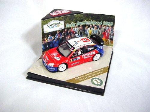 Bitesu 1:43 Citroen Xsara WRC 2005 Deutschland Rally S, robe...