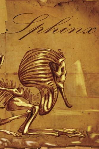 Sphinx Skeleton Notebook: 150 page Notebook Journal Diary: Volume 65
