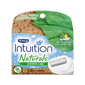 Schick Intuition Naturals Sensitive Care 60/3ct