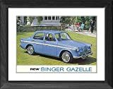 Framed Print of Singer Gazelle from Coventry Transport Museum