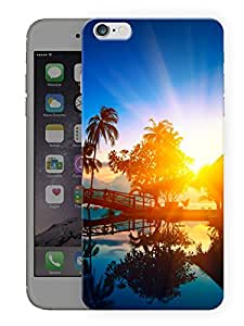 """Humor Gang Beautiful Sunset Printed Designer Mobile Back Cover For """"Apple Iphone 6 - 6s"""" (3D, Matte, Premium Quality Snap On Case)"""