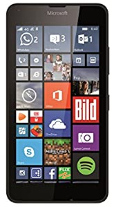 Microsoft Lumia 640 Smartphone (5 Zoll (12,7 cm) Touch-Display, 8 GB Speicher, Windows 8.1) schwarz