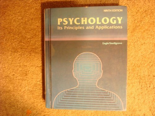 Psychology, Its Principles and Applications