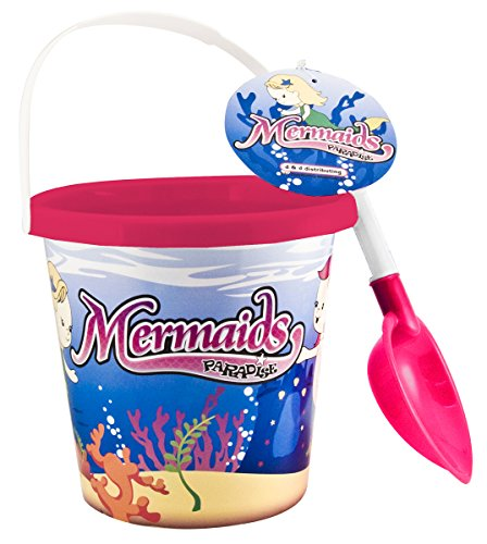 D&D Distributing Mermaid Bucket and Shovel