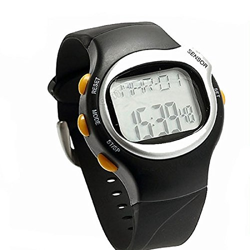 Amjimshop(Tm) Hot Selling Craft Gift Pulse Heart Rate Led Wristwatch With The Best Price