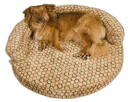 Snoozer Metropolitan Dreamer Pet Sofa, Large, Leaf/Light Camel