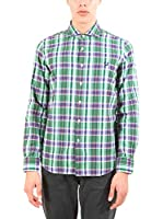 Fred Perry Camisa Hombre (Verde)