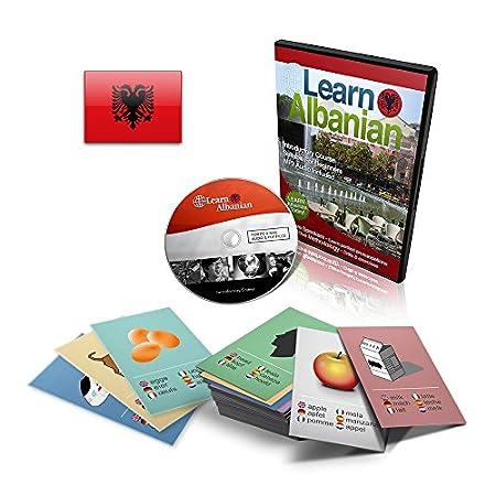 Learn To Speak Albanian Language - Language Course & Flashcards Set