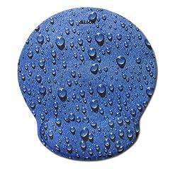 Allsop 28822 Mouse Pad Pro Memory Foam Mouse Pad (Raindrop Blue)
