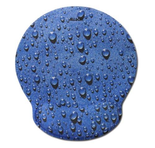 Allsop 28822 Mouse Pad Pro Memory Foam Mouse Pad (Raindrop Blue) front-173898