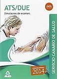 img - for ATS/DUE del Servicio Canario de Salud. Simulacros de Examen book / textbook / text book