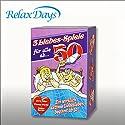 Relaxdays 3 Liebesspiele ab 50 - Strip Poker, Fitnesswürfel und Liebeskarten