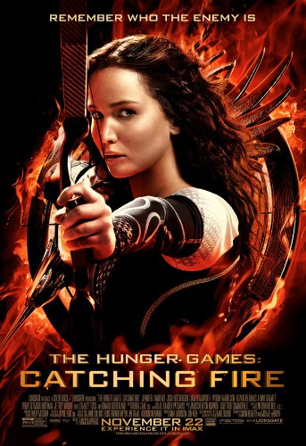 Hunger Games Catching Fire Katniss One Sheet Movie Poster