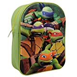 Teenage Mutant Ninja Turtles Nickelodeon Character Backpack in 3d Girl School Bag