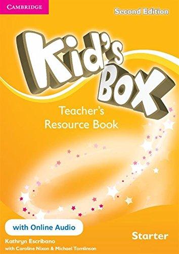 Kid's Box Starter Teacher's Resource Book with Online Audio Second Edition