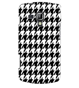 ColourCraft Pattern Back Case Cover for SAMSUNG GALAXY S DUOS 2 S7582