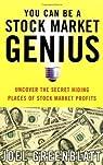 You Can be a Stock Market Genius par Greenblatt
