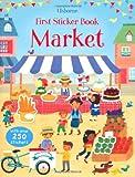 First Sticker Book Market (First Sticker Books)