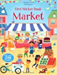 First Sticker Book Market (First Stic...